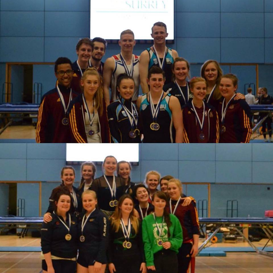 Higher Team Silver and Bronze and Lower Team Bronze from the Surrey Open 2017